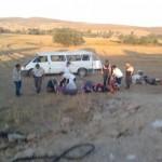 Gazligol Yolunda Trafik Kazası: 15 Yaralı