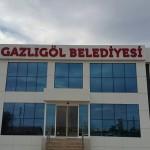 Gazlıgöl Belediyesi Yeni Binasında