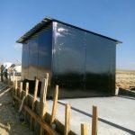Gazlıgöl'deki Su Kuyularına Raylı Kulübe